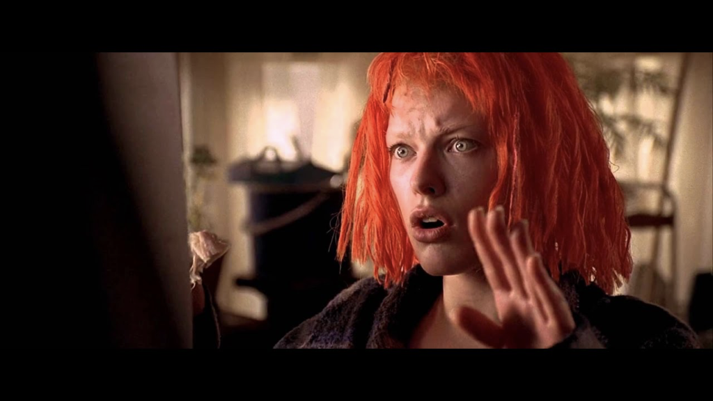 Scene from the The Fifth Element movie.